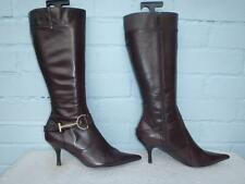 River Island Stiletto 100% Leather Upper Boots for Women
