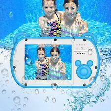 Wasserdichte Digitalkamera für kidscamking HD 1080p Unterwasser Kinder Video kam...
