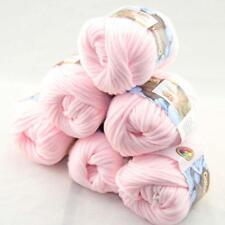 SALE Special Thick Chunky 100% Cotton Shawl Scarf Hand Knit Yarn 6 BallsX50gr 03