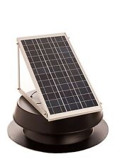 SOLAR POWERED ATTIC FAN, 30 WATT W/ Thermal Switch