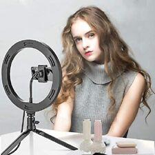 """Anillo de luz Led aro 10"""" para Fotografía maquillaje video con Trípode Tik Tok"""