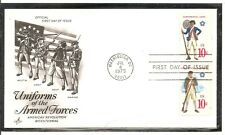 US SC # 1565 And 1567 Continental Marines , Army FDC. Artcraft Cachet