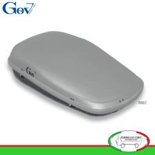 Gev 9007 - BOX BAULE UNIVERSALE PORTABAGAGLI AUTO STYLE 490 LT LITRI GRIGIO