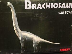 Jurassic Park Brachiosaurus 1:30 Scale 1992 TSUKUDA Hobbies Vinyl Kit MIB