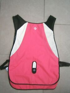 NEW* RONHILL FLO RUNNING VEST PINK REFLECTIVE LADIES ONE SIZE