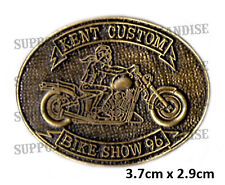 HELLS ANGELS KENT CUSTOM BIKE SHOW 1996 Pin Badge HIGHLY COLLECTABLE RARE KCBS