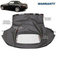 Mazda Miata 2006 2015 Convertible Top Amp Heated Glass Window Black Cabrio