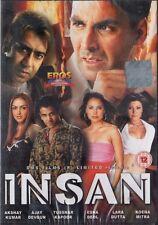 INSAN - EROS  BOLLYWOOD DVD - Akshay Kumar, Ajay Devgan, Tusshar Kapoor, Esha D