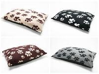 LARGE & Extra Large  Fleece Dog Bed -Pet Washable Zipped Mattress Bed