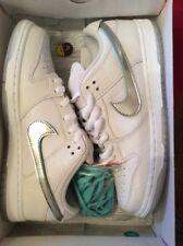 DS Nike SB Dunk Low OG QS Diamond Tiff White Chrome 9.5 Paris Tokyo 210p
