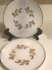 Federal Glass Meadow Gold Salad Plates