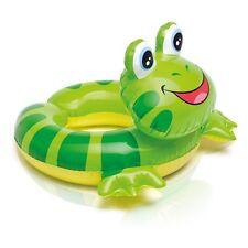 New Intex Animal Split Ring Swim Pool Float Tube Inflatable Frog Kids 3-6 years