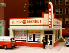 CITY CLASSICS 114 HO SUPER MARKET GROCERY STORE BUILDING Railroad Kit FREE SHIP