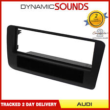 CT24AU20 Black Single Din Fascia Adapter Panel For Audi A1 8X Model 2010>