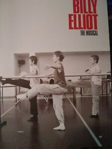 """Billy Elliot The Musical""  - Victoria Palace Theatre, London 2005 souvenir"