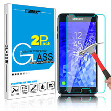 2X Tempered Glass Screen Protector For Samsung Galaxy J7 2018/Top/Star/Aero/J737