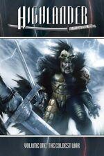 Highlander TP Vol 1 The Coldest War PX cover Connor Macleod Duncan Kurgan comic