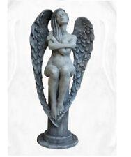 Engel ELOA Steinguss Steinfigur Vidroflor Gartendeko Statue Skulptur frostfest