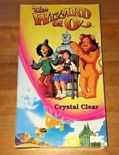 Wizard of Oz (Crystal Clear) Animated TV Series - 1990 VHS + FREE DVD