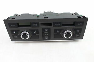 2005 2006 2007 2008 AUDI A6 C6 - AC CLIMATE CONTROL / TEMP UNIT