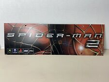 Spider-Man 2  Promo Sign Marquee GameCube Xbox PlayStation 2