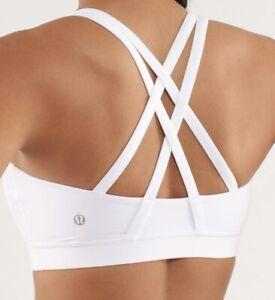 Lululemon Energy Bra   (White)                          RRP £45