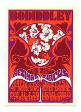 Retinal Circus Postcard 1968 May 30 Bo Diddley My Indole Ring