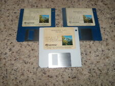 "Manhunter S.F. MS-DOS PC IBM 3.5"" floppy disks"