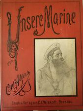 Allers Unsere Marine, C. W. Allers, Marine, Kunst, Kunst Marine,