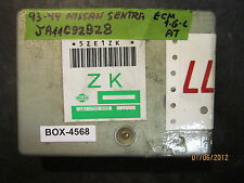 ^^93 94 NISSAN SENTRA 1.6L A/T ECM #JA11C92BZ8 *see item description*(BOX-4568)