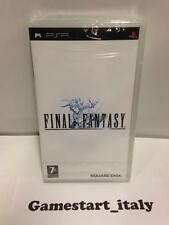 FINAL FANTASY PRIMA STAMPA (SONY PSP) NUOVO SIGILLATO PAL VERSION