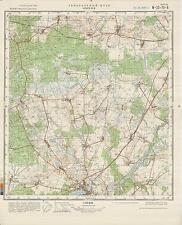 Russian Soviet Military Topographic Maps - NOWOGARD (Poland), 1:50 000, ed.1981