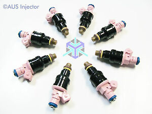 Set of 8 BOSCH EV1 Ford Chevrolet Dodge - 95 lbs  HIGH FLOW Racing Injectors