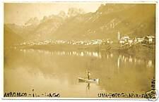 AURONZO - IL LAGO - FOTOGRAFICA (BELLUNO) 1932