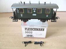 MES-35929 Fleischmann 5052 H0 Personenwagen DRG 2./3.Kl. sehr guter Zustand,