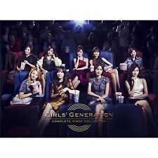 New SNSD GIRLS' GENERATION COMPLETE VIDEO COLLECTION DVD Japan F/S
