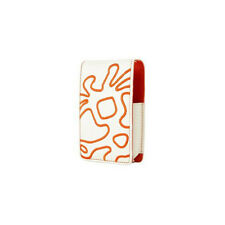 Crumpler Little Big Thing Leather Case For iPod Nano 1G/2G - Cream/Orange NEW