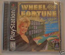Wheel of Fortune (PlayStation PS1) Original Release Brand New, Sealed!