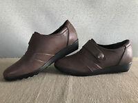 BNIB Ladies Sz 9 Shoe Art Brand Fran Supersoft Comfort Sole Dark Taupe RRP $80