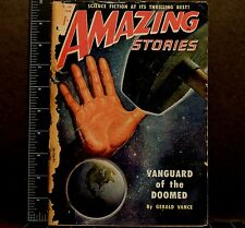 Amazing Stories #7 Back Issue Magazine 1950 Science Fiction Writings mystery