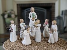 New ListingWillow Tree Angel Figurines Lot Of 7 - Welcoming, Hope, Guardian, Prayer etc