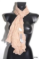 Vêtement Femme - Foulard   étole - PALME 36426 Maron Clair - NEUF 8349fa55d0f