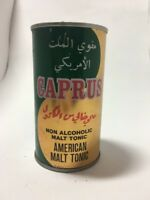 Caprus American Malt Tonic Vintage Can Empty Unopened No Contents