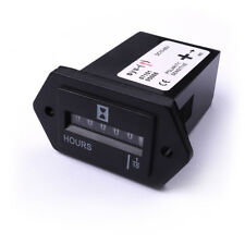 DC Rectangle Generator / Engine Sealed Hour Meter Counter Hourmeter for Car Boat