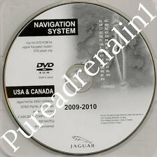 09 2010 2011 JAGUAR XF SUPERCHARG​ED NAVIGATION DVD EAST DE MD ME PA NH VT VA RI
