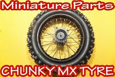 Pit bike back wheel 14inch rear wheel mx chunky tyre 15mm spindle Stomp WPB M2R