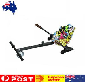 Hover Go Kart Cart Seat Adjustable Holder Stand Self Balance Hoverboard Colorful