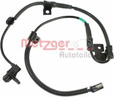 Sensor, Raddrehzahl für Bremsanlage Vorderachse METZGER 0900226
