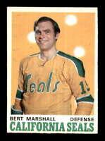 1970 O-Pee-Chee #188 Bert Marshall  EXMT/EXMT+ X1428886