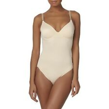 Jaclyn Smith Womens Size Small Nude Body Briefer Shapewear Slimmer NEW